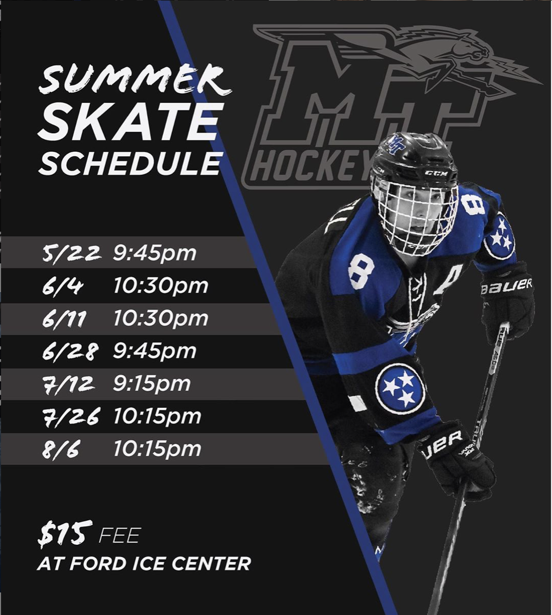 May 2019 Middle Tennessee State University Hockey Club